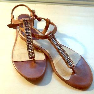Frye T-Strap sandals